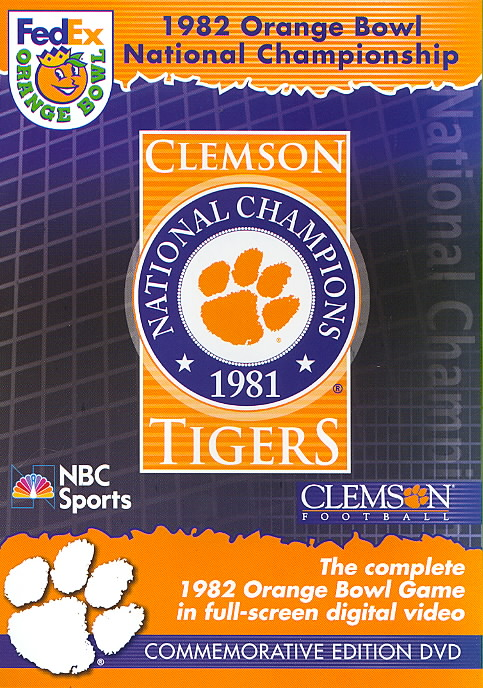 1982 ORANGE BOWL NATIONAL CHAMPIONSHI (DVD)